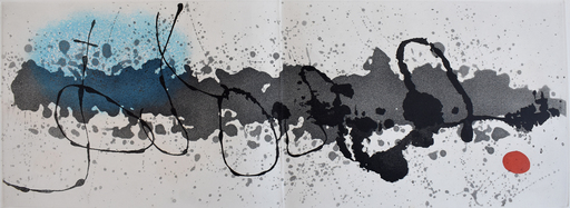 Joan MIRO - Stampa Multiplo - Trace on Water | Tracé sur l'eau