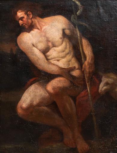 Gian Lorenzo BERTOLOTTO - Gemälde - St. John Baptist