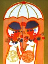 Frédéric MENGUY - Print-Multiple - The Angels - Umbrella