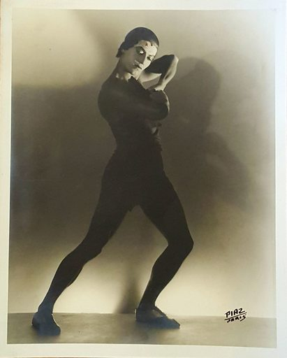 Teddy PIAZ - Photography - SERGE LIFAR DANS PROMETHEE OPERA DE PARIS 1929