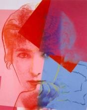 安迪·沃霍尔 - 版画 - Sarah Bernhardt