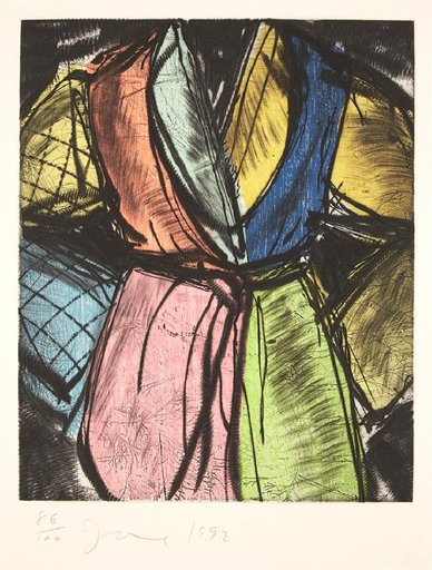 Jim DINE - Stampa Multiplo - Bill Clinton Robe