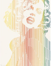 Werner BERGES - Estampe-Multiple - Marilyn Monroe III