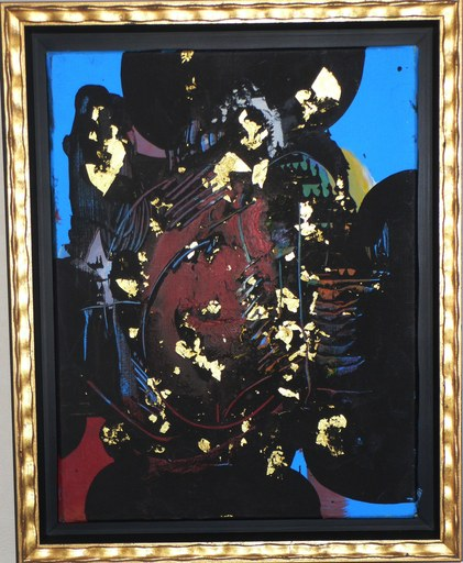 """Ladislas KIJNO - Gemälde - 'Hommage à la Princesse Maia 1492-1992"""""""