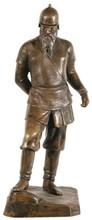 Parmen Petrowitsch SABJELLO - Sculpture-Volume - Bronze Figure of Ermak