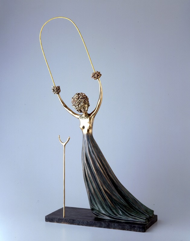 Salvador DALI - Sculpture-Volume - Alice in Wonderland, Alice aux pays des merveilles