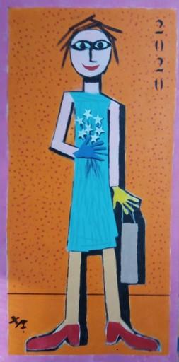 Harry BARTLETT FENNEY - Painting - the shopper (2020)