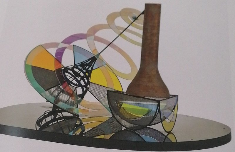 Dennis OPPENHEIM - Sculpture-Volume - STILL DANCING