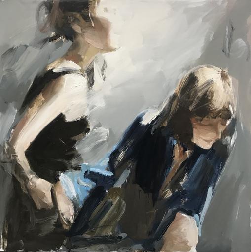 Vladimir SEMENSKIY - Painting - In the light