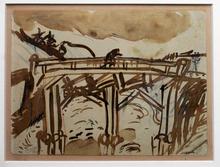 Marc CHAGALL (1887-1985) - The Bridge