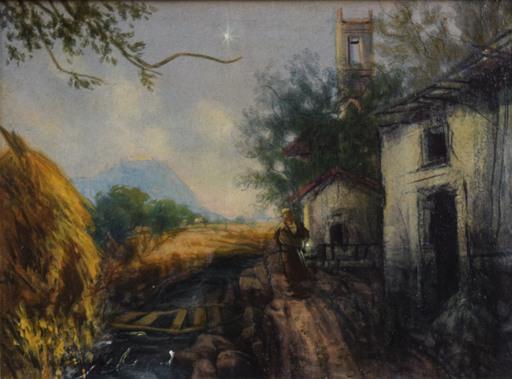 Silvestro PISTOLESI - Pittura - Paesaggio