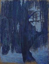Carlos ESTEBAN - Painting - Le motif du saule 3 (Cat N° 3443)