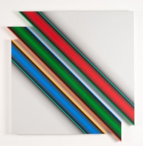 Dario PEREZ FLORES - Painting - Dynamique Chromatique 571