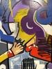 Ghazi BAKER - Painting - A la queuleuleu