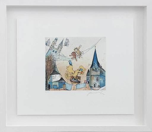 Horst Eckert JANOSCH - Grabado - In Goslar