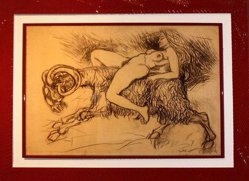 Renato GUTTUSO - Pittura - Segni zodiacali: Ariete