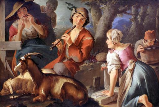 Giacomo Francesco CIPPER - Gemälde - Rural scene
