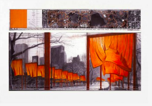 CHRISTO - Estampe-Multiple - The Gates (b)