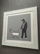 BANKSY (1974) - Choose your Weapon (Grey)