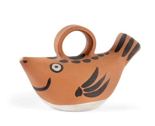Pablo PICASSO - Keramiken - Poisson