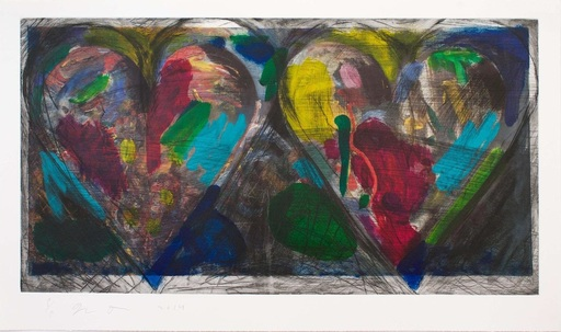 Jim DINE - Print-Multiple - Blue Points