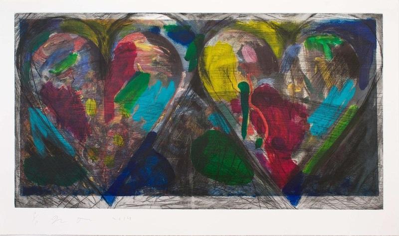 Jim DINE - Print-Multiple - Blue Points