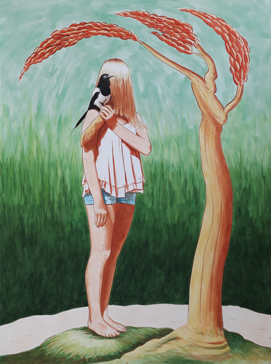 Erlend STEINER LOVISA - Painting - Marilena 4    (Cat N° 6333)