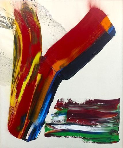 Paul JENKINS - Painting - Phenomena Cross Wind Alternate