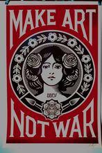 Shepard FAIREY - Print-Multiple - Make Art not War,