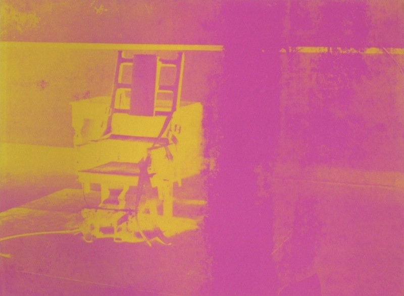 Andy WARHOL - Print-Multiple - Electric Chairs FS II.82