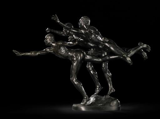 Alfred BOUCHER - Skulptur Volumen - Au But