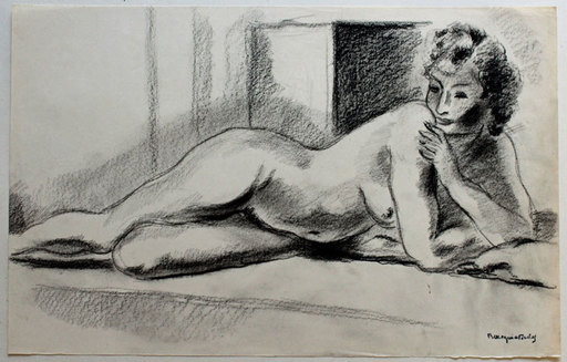 Bertrand MOGNIAT-DUCLOS - Disegno Acquarello