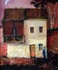 Levan URUSHADZE - Pintura - Red house