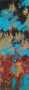 Marie Edmée SEGUIN - Painting - La Nuit Des Temps N°51