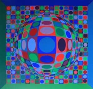Victor VASARELY, Composition