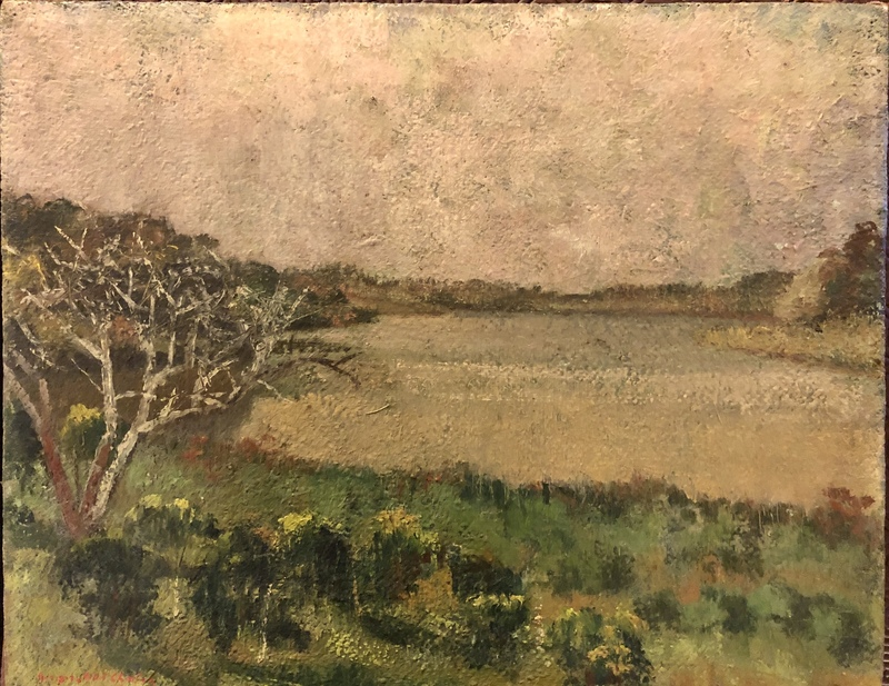 Georges Abel CHALON - Peinture - Paysage