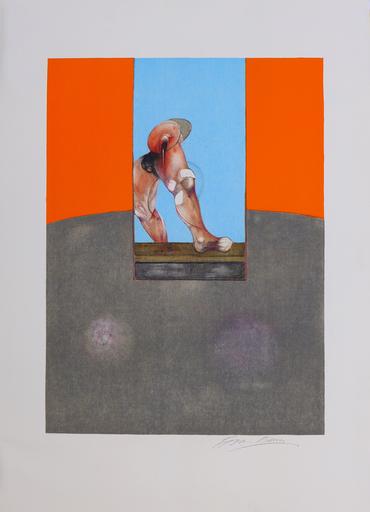 Francis BACON - Grabado - Study for a Bullfight
