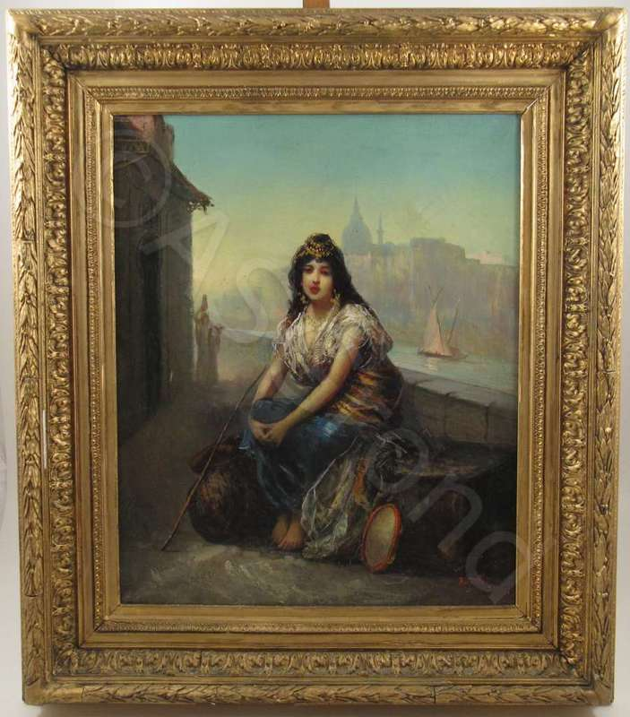 Turkish Dancing Girl in Istanbul by | Frédéric BORGELLA | buy art