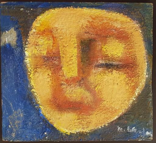 Edgar MELIK - Pintura - Visage lune