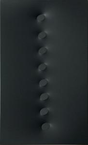 Turi SIMETI - Painting - 8 ovali neri