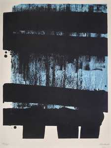 Pierre SOULAGES - Stampa-Multiplo - Lithographie n°36
