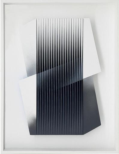 Alberto BIASI - Pittura - Bianco e nero abbracciati
