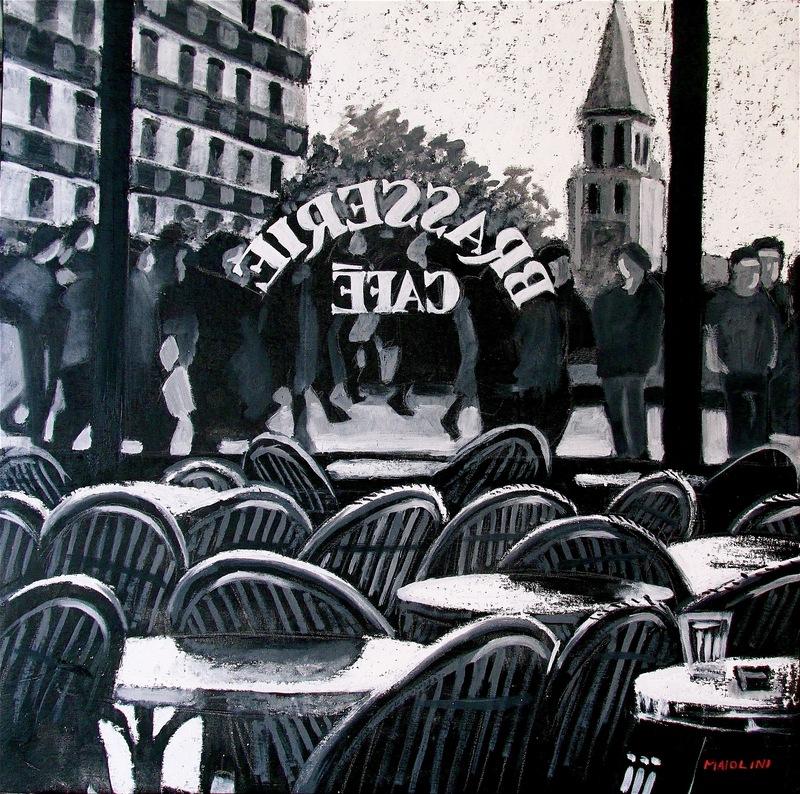 Carlo MAIOLINI - Peinture - Chez Louise