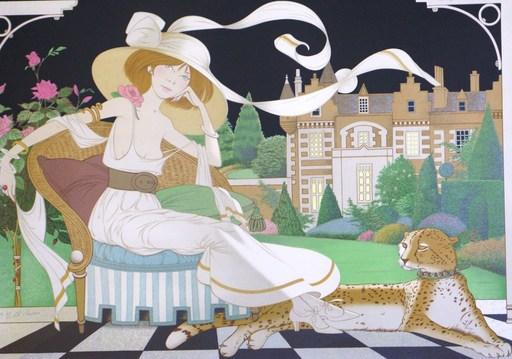 Philippe Henri NOYER - Grabado - *Lady Libellala