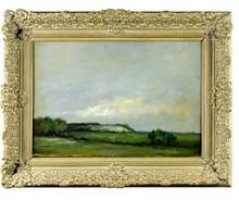 Adam BALTATU - Painting - peisage of Husi
