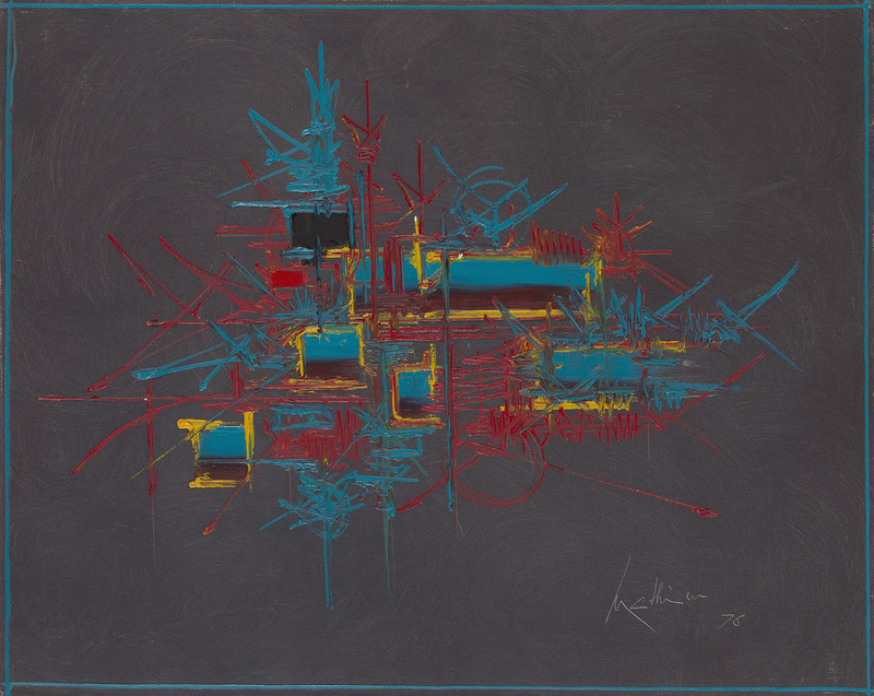 Georges MATHIEU - Peinture - Pandosie