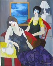 Isaac TARKAY - Peinture - * Two Women