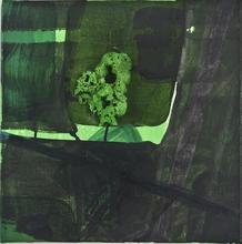 Bertille DE BAUDINIERE - Peinture - Green Earth Nº2