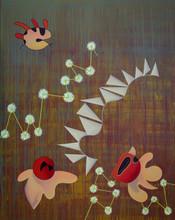 Enrique Rodriguez GUZPENA - Painting - Gamusino de la esbelta sombra