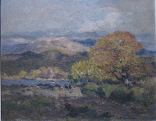 Fernand MAILLAUD - Peinture - COIN D AUTOMNE PRES DE TOULON